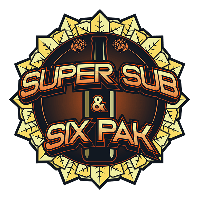 Super Sub and Six Pak Logo